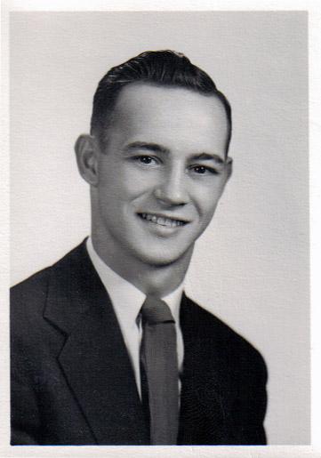Larry (Tiny) Whims, Rittman High School Senior Photo